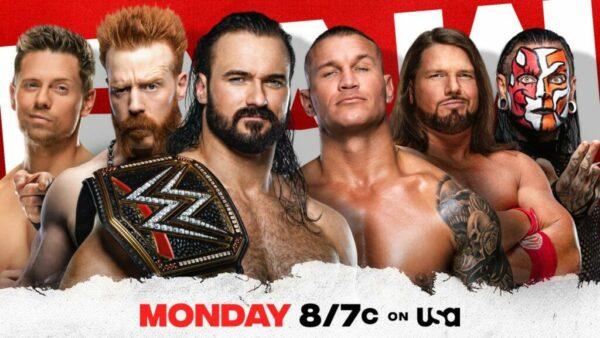 WWE Raw Elimination Chamber Gauntlet