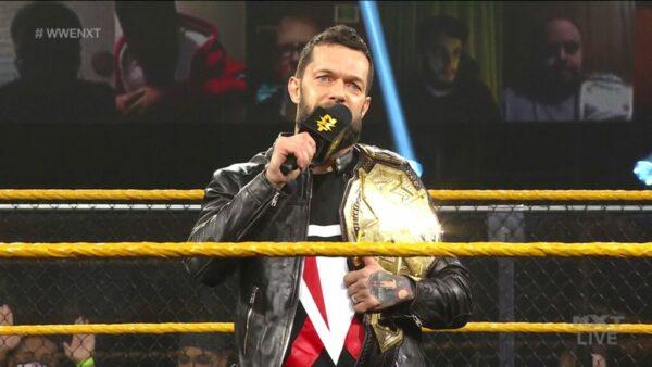 Finn Balor NXT Champion