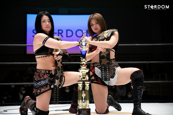 Maika & Himeka Goddess Of Stardom Champions