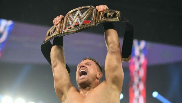 The Miz WWE Champion Raw Card