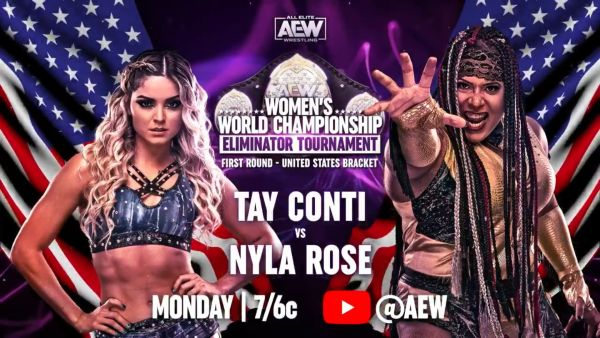 Tay Conti Nyla Rose AEW Womens Eliminator Tournament