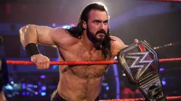Drew McIntyre WWE Championship