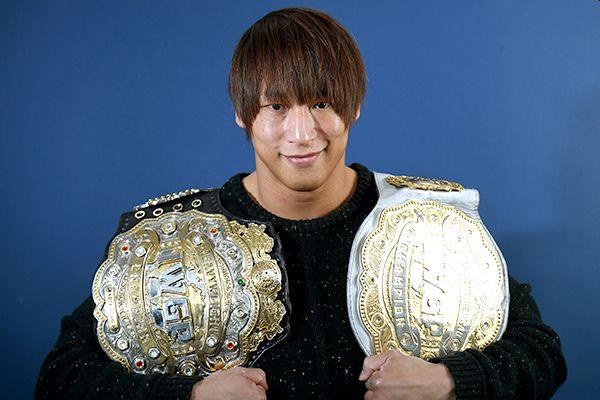 Kota Ibushi IWGP Intercontinental and Heavyweight Titles