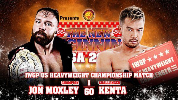 Jon Moxley vs KENTA