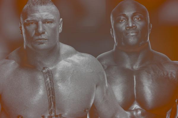 Brock Lesnar Bobby Lashley