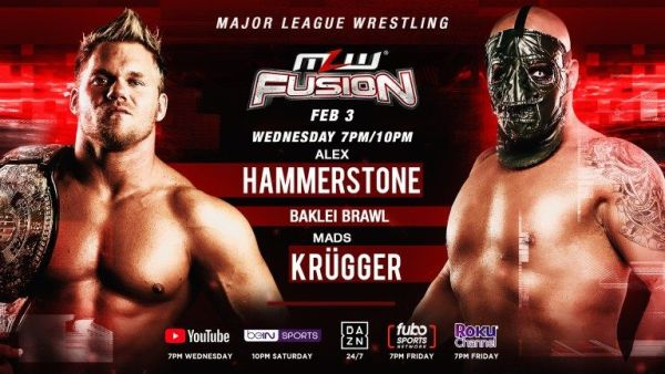 MLW FUSION 2/3/21