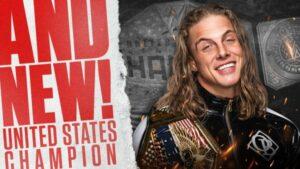 Riddle WWE United States Championship