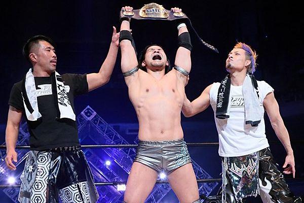 Seiki Yoshioka GHC Junior Heavyweight Champion