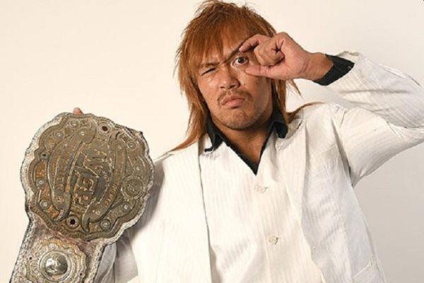 Tetsuya Naito IWGP Intercontinental Championship
