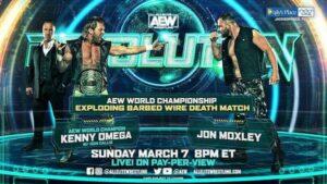 AEW Revolution Results -- Kenny Omega vs Jon Moxley