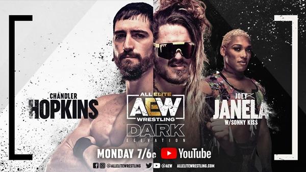 Chandler Hopkins presents AEW's debut in AEW's Darkness
