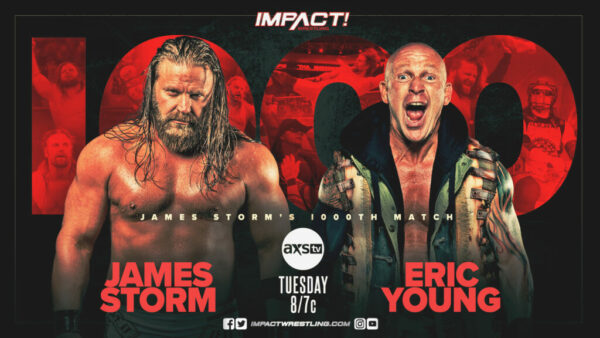 James Storm vs Eric Young on IMPACT