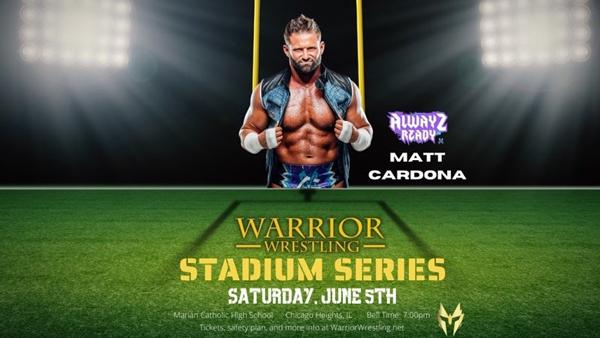 Matt Cardona Warrior Wrestling