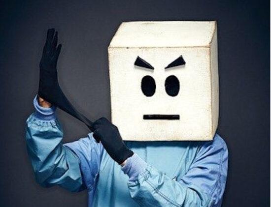 Dr. Cube from Kaiju Big Battel