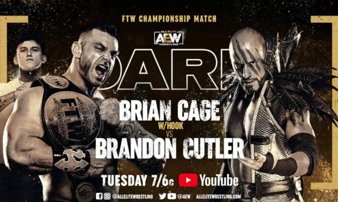 AEW Dark card match: Cage vs Cutler