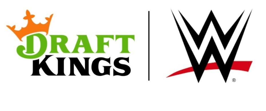 DraftKings and WWE logos