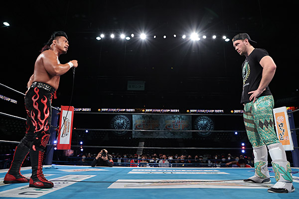 Shingo Takagi Will Ospreay New Japan Cup Final preview