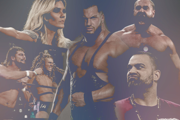AEW-Wrestlers