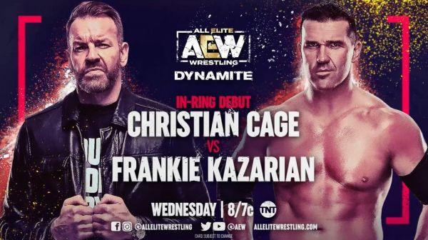 Christian Cage Frankie Kazarian AEW Dynamite