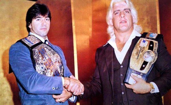 Ric Flair and Rick Martel