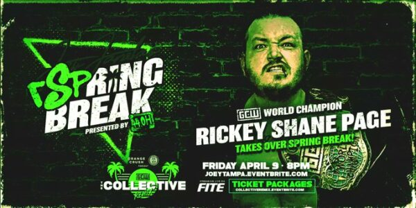 Rickey Shane Page Steals Spring Break