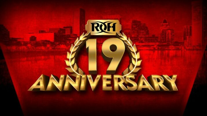 Ring of Honor 19th anniversary logo
