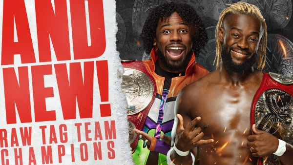 The New Day RAW Tag Team Championship