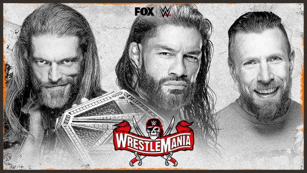 Roman Reigns Edge Daniel Bryan WrestleMania 37