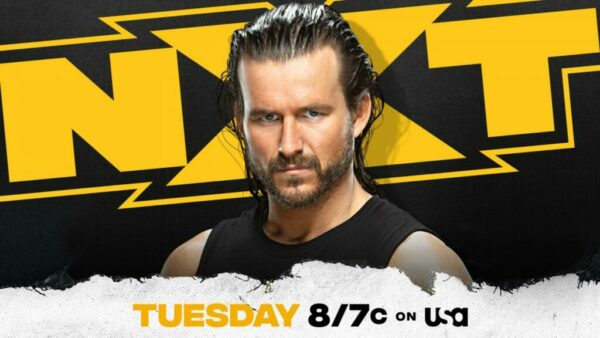 Adam Cole WWE NXT card