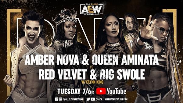 Queen Aminata AEW Dark