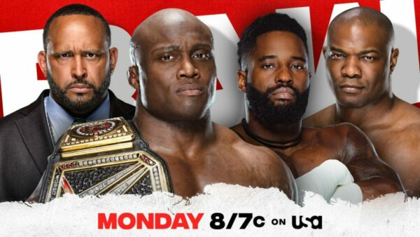 Bobby Lashley The Hurt Business WWE Raw Card