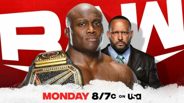 Bobby Lashley WWE Raw Card
