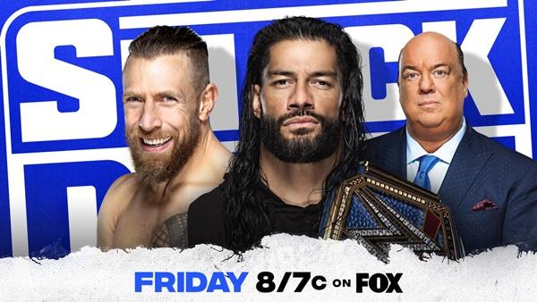 SmackDown Card: Reigns vs Bryan