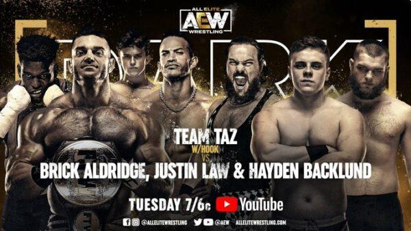 Hayden Backlund Makes AEW Debut