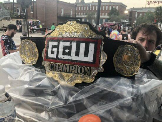 Alex Colon Wins GCW Ultraviolent title