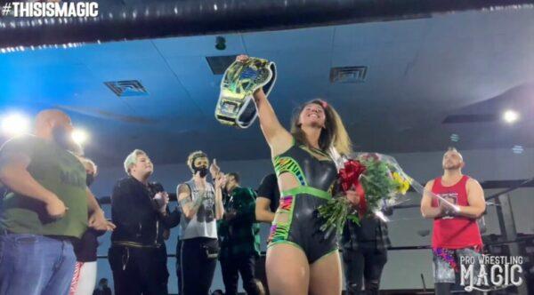 Erica Leigh Wins PWM World Title