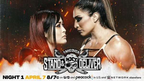 Io Shirai vs Raquel Gonzalez NXT TakeOver Stand and Deliver Results for Night One