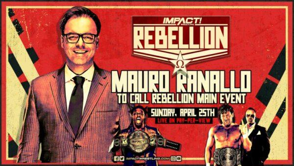 Mauro Ranallo IMPACT Wrestling