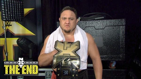 NXT Champions: Samoa Joe