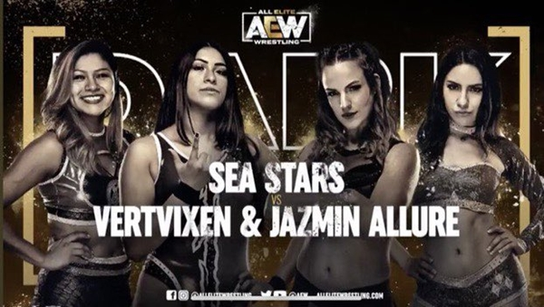 AEW Dark Card Team Sea Stars Debut