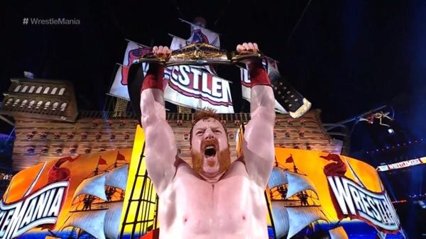 Sheamus Wins US Championship at WrestleMania 37