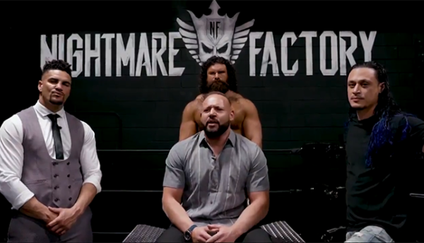 The Factory AEW Anthony Ogogo Nick Comoroto Aaron Solow QT Marshall