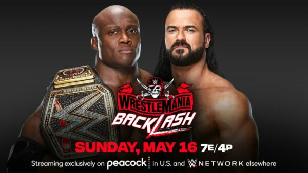 WrestleMania Backlash Bobby Lashley vs Drew McIntyre