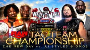 AJ Styles and Omos RAW Tag Team Championship