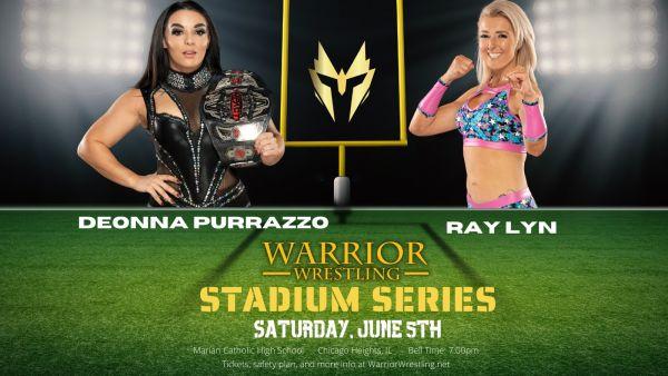 Deonna Purrazzo Warrior Wrestling
