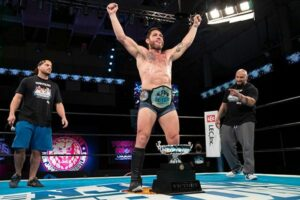 Filthy Tom Lawlor NJPW Strong Openweight Championship
