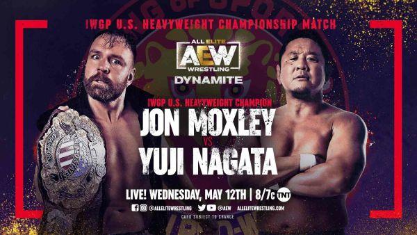 Jon Moxley Yuji Nagata AEW Dynamite