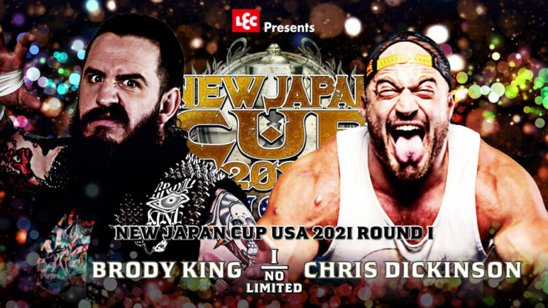 king vs dickinson - new japan cup usa