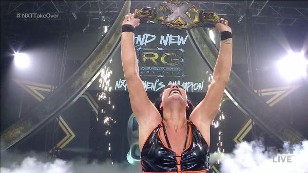 Raquel Gonzalez NXT Women's Championship