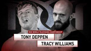ROH TV 502 Tony Deppen Tracy Williams